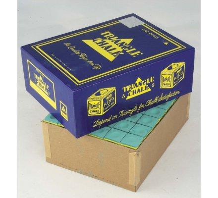 Craies Triangle Chalk-par paquet de 12-Vert