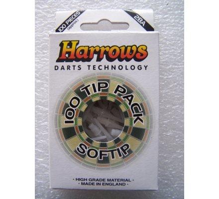 "Pointes ""Soft-Tip""-par paquet de 100-Soft Tip-Blanc"