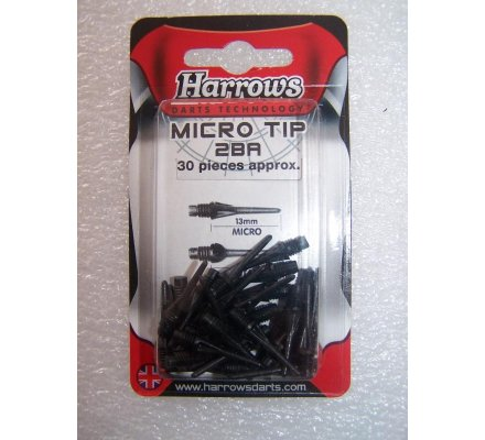 """Pointes """"Micro""""-par paquet de 100-Micro-Noir"""