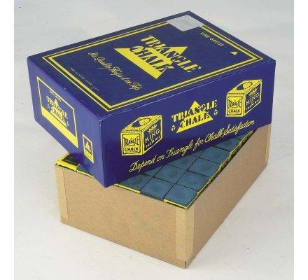 Craies Triangle Chalk-par paquet de 12-Bleu