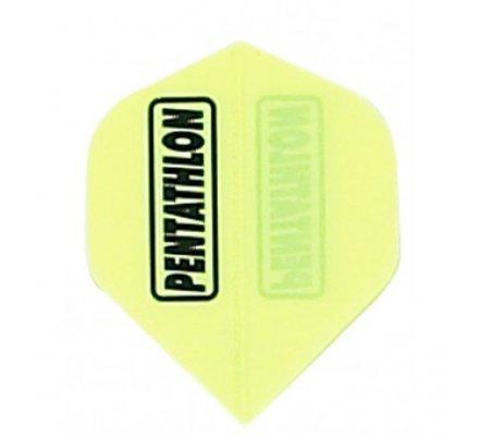 Ailette de flechettes standard FLUO Jaune PE009