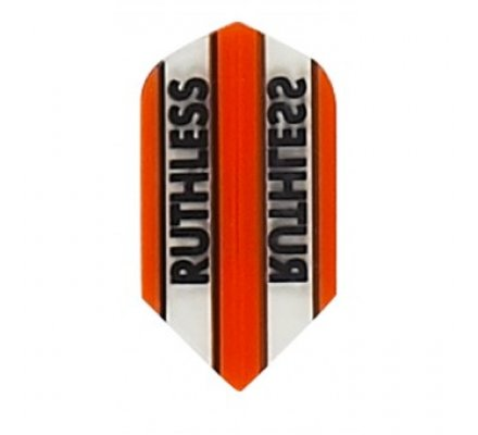 Lot de 3 ailettes Slim RUTHLESS BANDEAU ORANGE R779