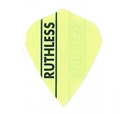 Lot de 3 ailettes Kite Ruthless Jaune R794