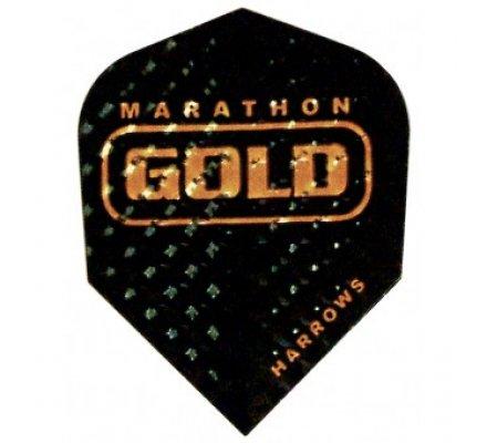 Ailette de fléchette Marathon GOLD Noire G12