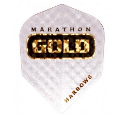Ailette de fléchette Marathon GOLD Blanc G13