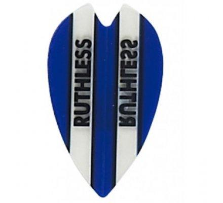 Lot de 3 ailettes Coeur RUTHLESS BANDEAU Bleu R903
