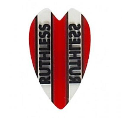 Lot de 3 ailettes mini coeur Ruthless Rouge R922