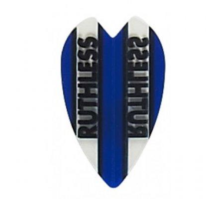 Lot de 3 ailettes mini coeur Ruthless Bleu R923
