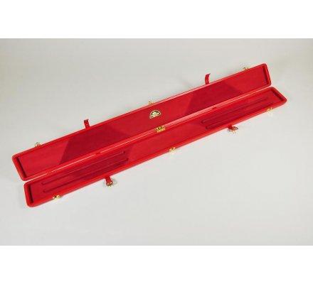 Boitier queue de billard Péradon Cuir 3/4 2696 RED
