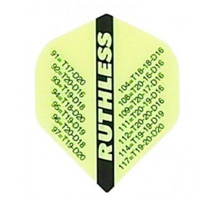 Lot de 3 ailettes standard RUTHLESS ANTISECHE 301 R822
