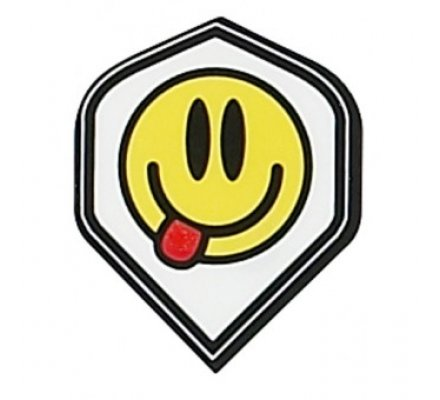 Lot de 3 ailettes Standard RUTHLESS Smileys R848