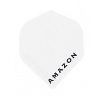 Lot de 3 ailettes de flechettes Standard Amazon blanche A191