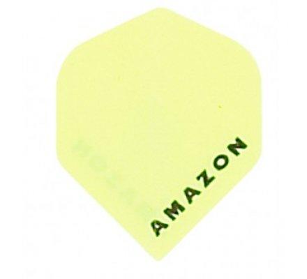 Lot de 3 ailettes de flechettes Standard Amazon Jaune A197