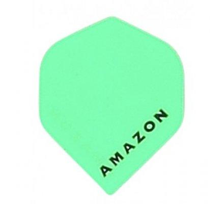 Lot de 3 ailettes de flechettes Standard Amazon Verte A195