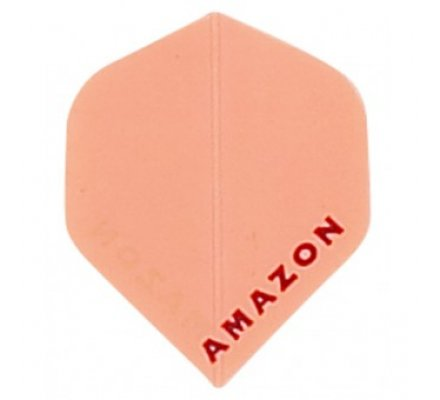 Lot de 3 ailettes de flechettes Standard Amazon Orange A196