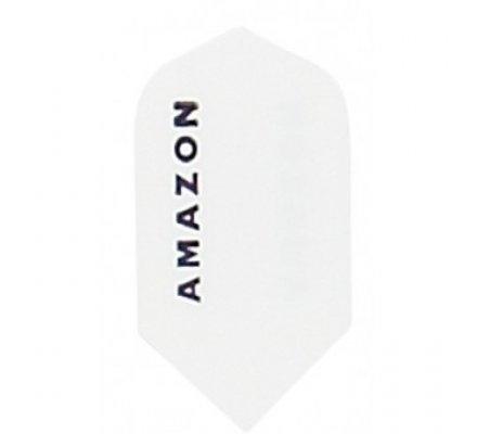 Lot de 3 ailettes de flechettes étroite Amazon blanche A965