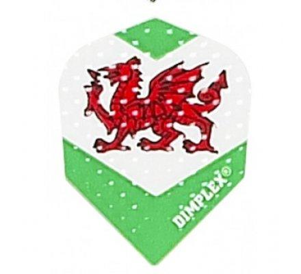 Lot de 3 ailettes standard Dimplex Pays de Galles  E197