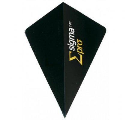Lot de 3 ailettes Super Pro SIGMA BLACK 68262