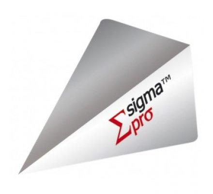 Lot de 3 ailettes Super Pro SIGMA Silver 68433