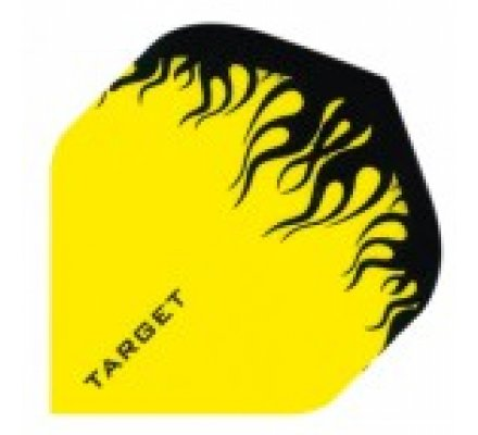 Lot de 3 ailettes Standard Target Pro 100 Yellow-Black T645