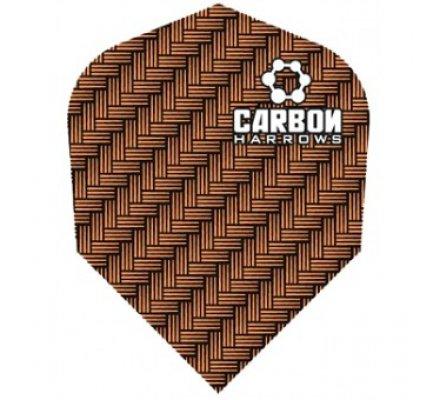 Lot de 3 ailettes de fléchette standard Carbon-Bronze-1201