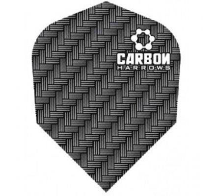 Lot de 3 ailettes de fléchette standard Carbon-Grey-1205