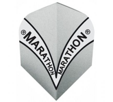 Lot de 3 ailettes de fléchette standard Harrows Marathon Grise M1506