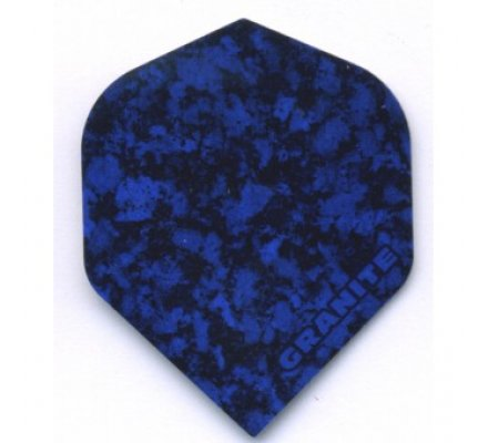 Lot de 3 ailettes standard Ruthless Granite Bleu nuit R005