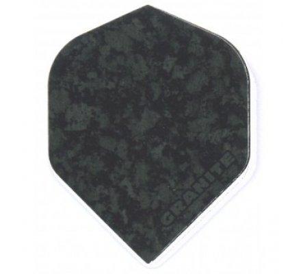 Lot de 3 ailettes standard Ruthless Granite Black R001