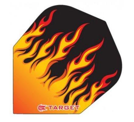 Lot de 3 ailettes Standard Target Pro Transparente  T1531
