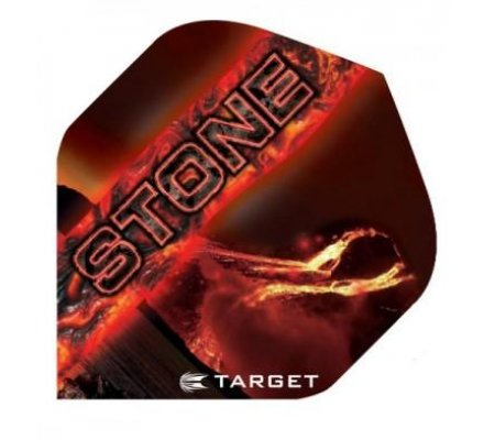Lot de 3 ailettes Standard Target Pro STD STONE  T6900
