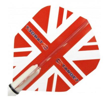 Lot de 3 ailettes Standard Target Vision Red Union Jack T2282