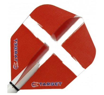 Ailette Standard Target St George Red T2310