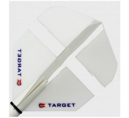 Lot de 3 ailettes Standard Target St George White T2312