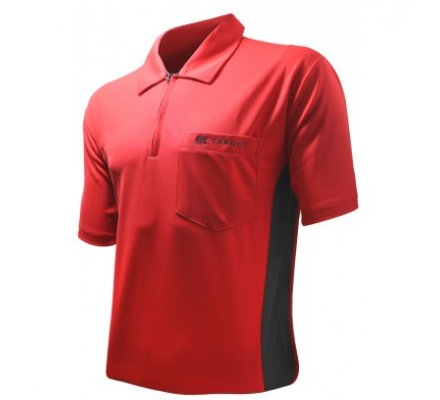 Polo Cool Play Target Rouge/Noir