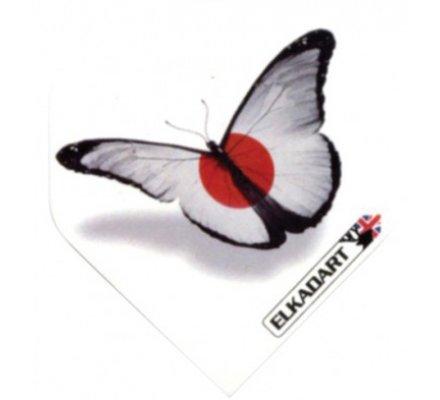 Lot de 3 ailettes Elkadart Papillon 1835