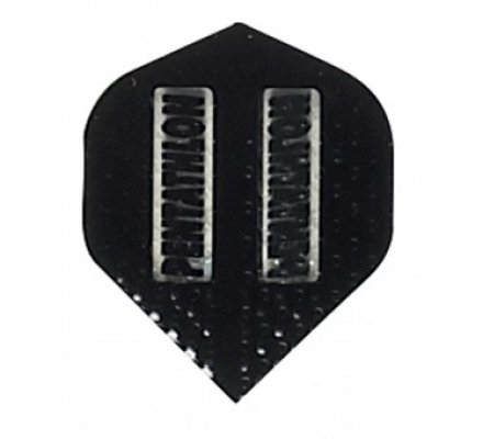 Ailette de flechettes standard Noir Gauffrée PE302