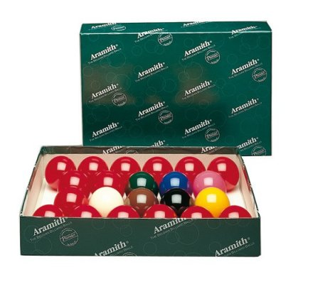 Jeu de billes de billard Snooker Aramith (50.8) A119D