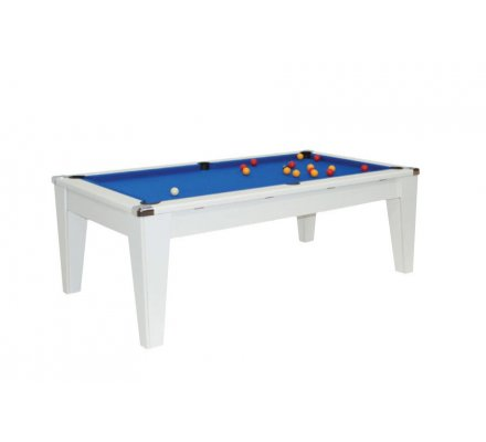 Table de billard Transformable Newport 7ft Blanc