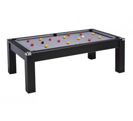 Table de Billard Pool convertible Le Cardiff 7ft Noir