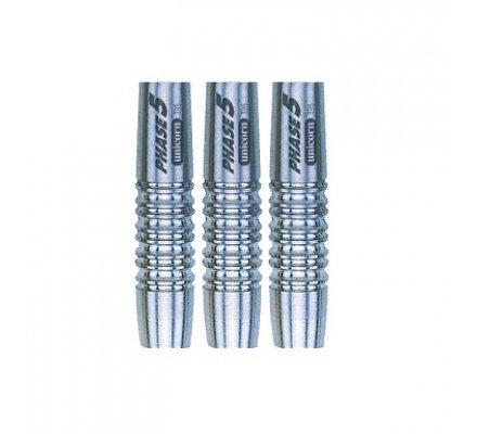 Fûts de Fléchettes nylon Unicorn Phase 5 Sylver-18gr