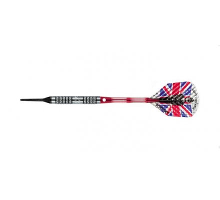 Flechettes Harrows Darts Eric BRISTOW modèle K 18 gr