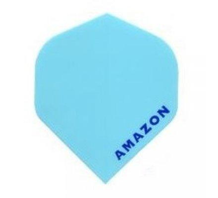 Lot de 3 ailettes de fléchettes Standard Amazon Pastel Bleu A494
