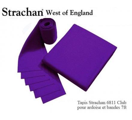 Tapis de billard  6811 Strachan Club Pré Découpé 7ft Violet