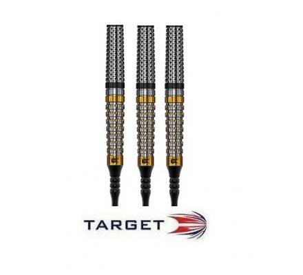 Flechettes nylon Target Distinction D6 - Pixel Grip - 18g