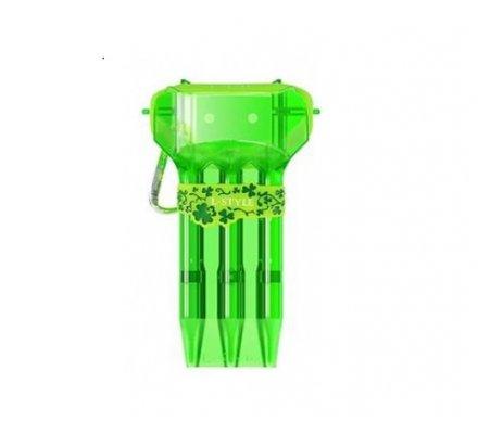 Etui pour jeux de fléchettes L-Style krystal One Vert