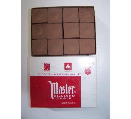 Craies Master Chalk-par paquet de 12-Marron