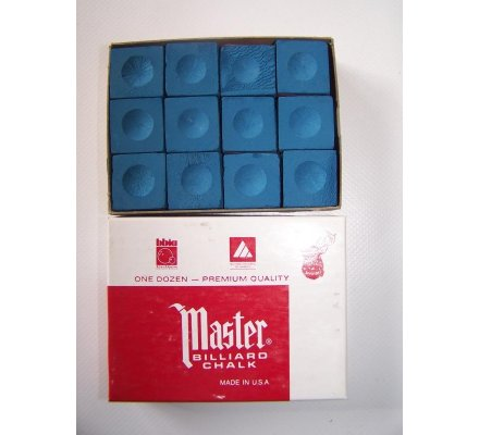 Craies Master Chalk-par paquet de 12-Bleu