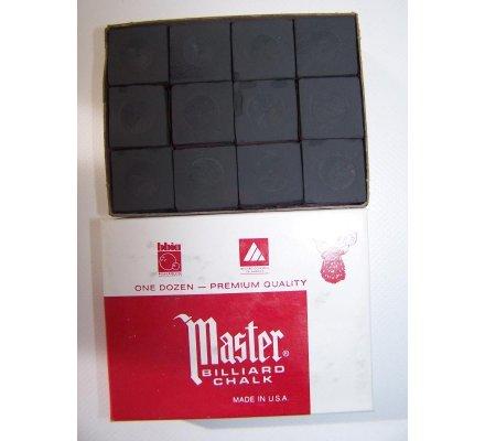 Craies Master Chalk-par paquet de 12-Noir