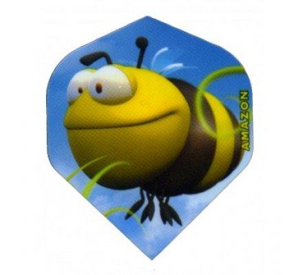 Lot de 3 ailettes Standard Cartoon Bee C04